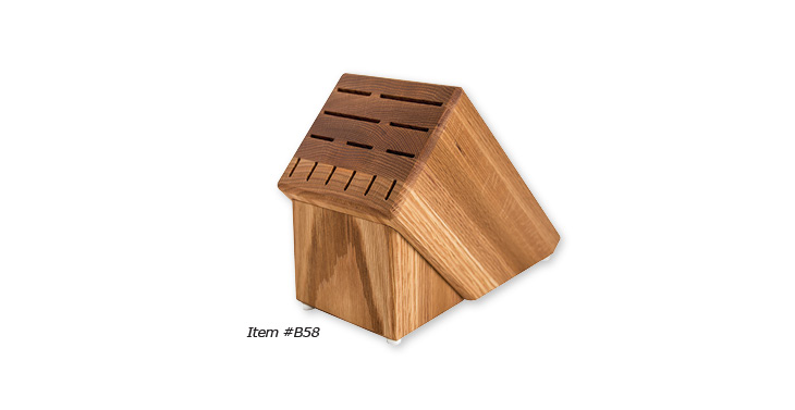 The Rada Cutlery Oak Block.
