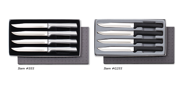 Rada Cutlery's Four Utility Steak Knives Gift Set.