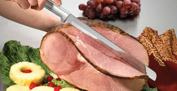 The Ham Slicer is the perfect spiral ham slicing knife you can buy.