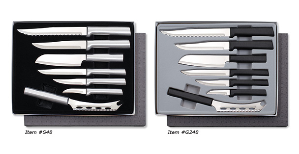 One of the best cutlery sets Rada Cutlery sell is the seven piece Starter Gift Set Part 2.
