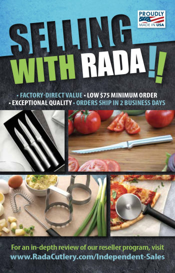Independent Seller FAQs | Reseller Catalogs - Rada Cutlery