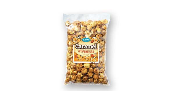 Caramel and Peanuts Popcorn