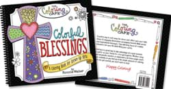Colorful Blessing Coloring Book