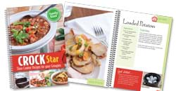 Click here to view the Crock Star Cookbook.
