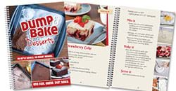 Dump and Bake Desserts Cookbook