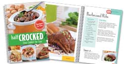 Click here to view the Half Crocked Cookbook.