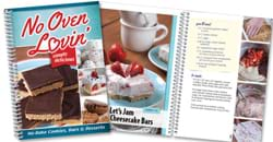No Oven Lovin' Cookbook.