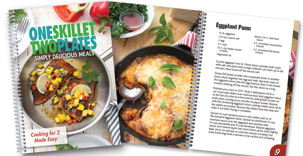 One Skillet Two Plates Cookbook