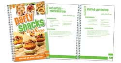 Party Snacks Cookbook.