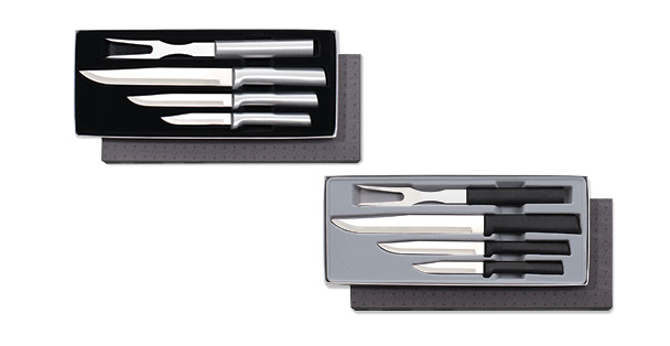 Prepare then Carve Gift Set Silver and Black