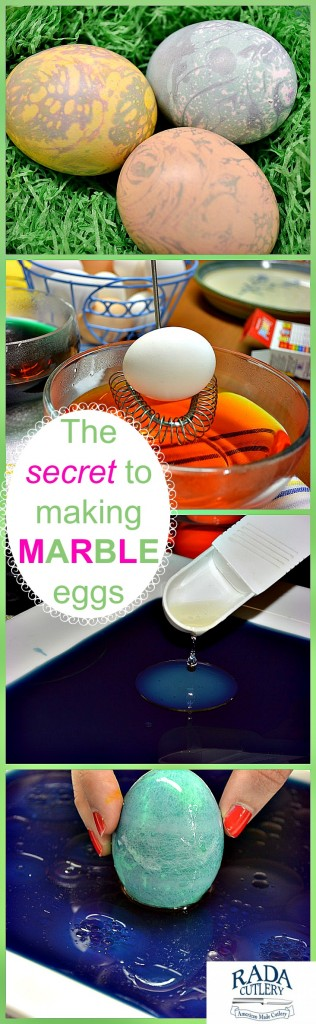 Marble Eggs Collage