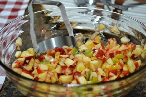 Apple Berry Fruit Salsa