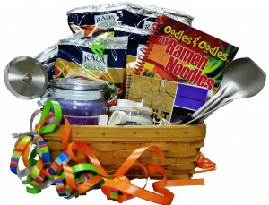Graduation Gift Basket image with Rada Cutlery products