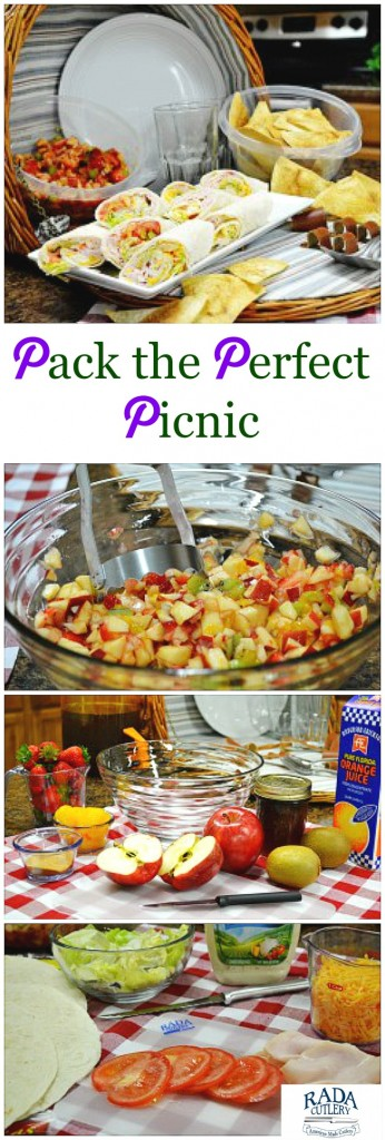 Picnic Packing Collage