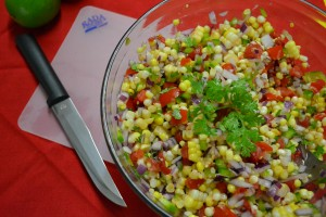 Finished Corn Salad