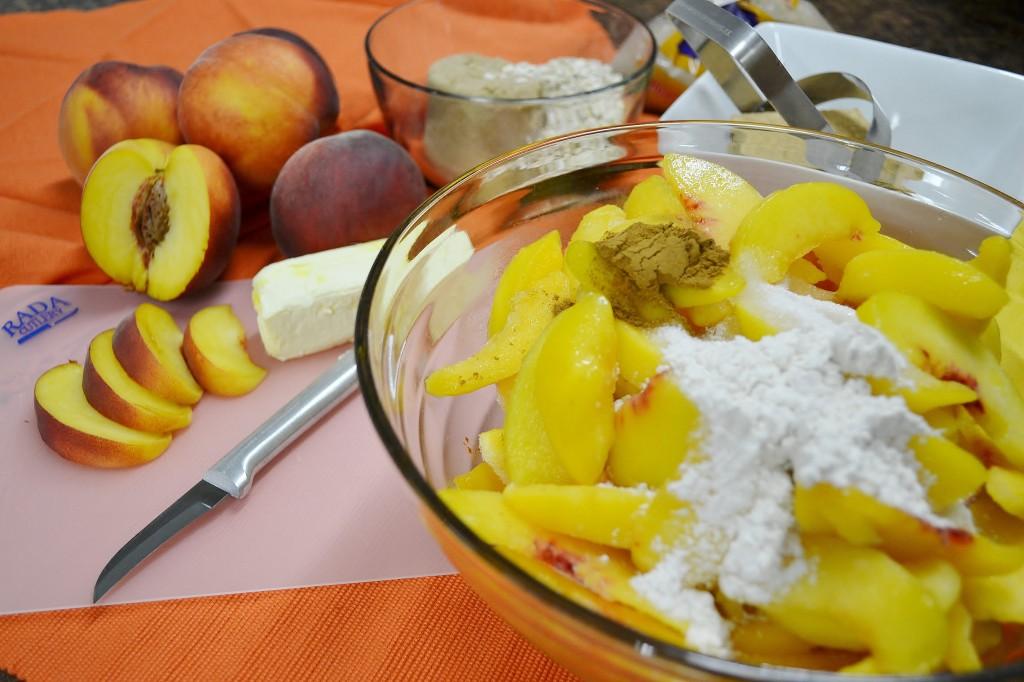 Peach Crisp Filling