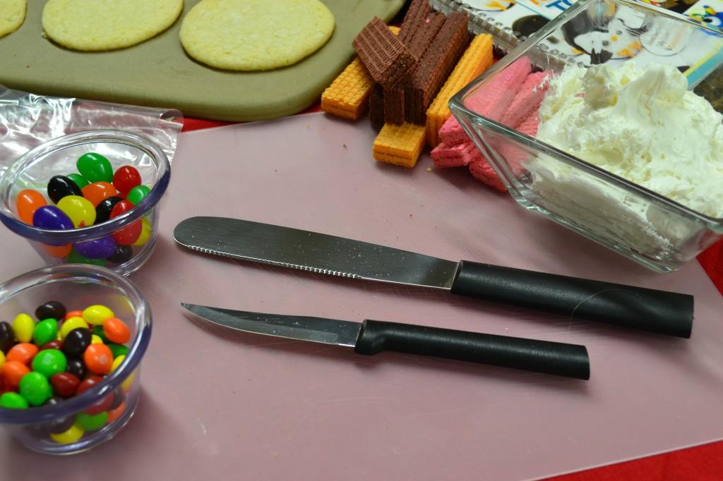Thanksgiving cookie ingredients