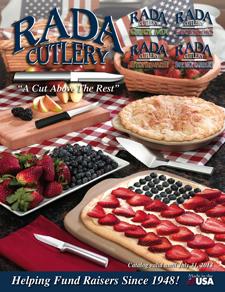 2012-13 Rada_Cutlery Fundraising catalog cover