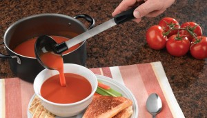 NEW Non-Scratch Soup Ladle from Rada Cutlery