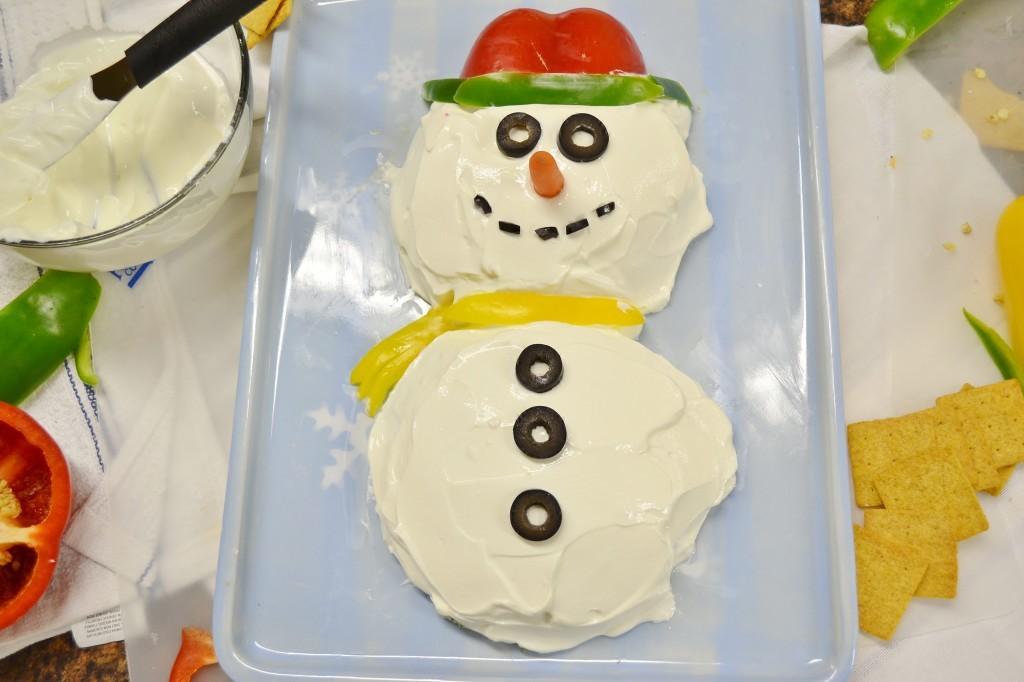 Easy Snowman Dip