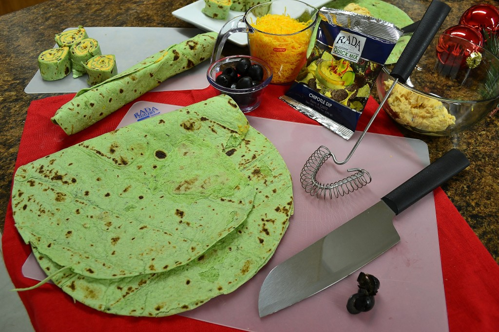 Ingredients for Tortilla Wrap Recipe