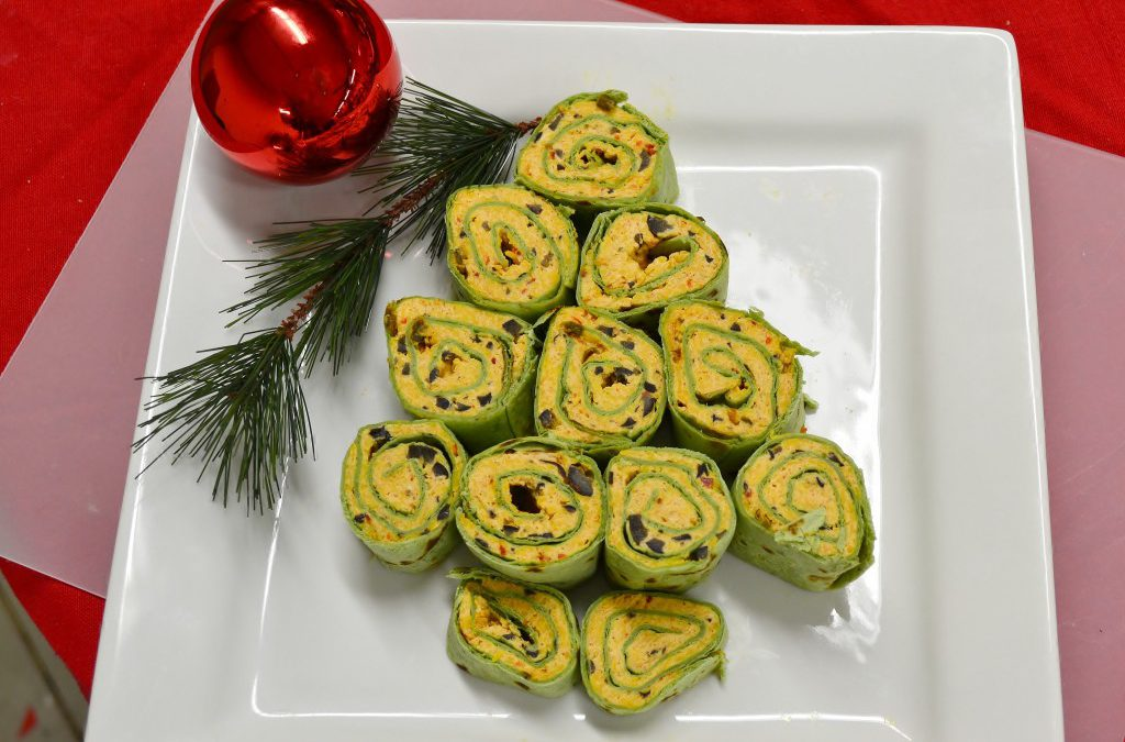 Tortilla Wrap Recipe | Christmas Appetizers