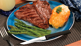 Use a Rada Cutlery Steak Knife to enhance your enjoyment!