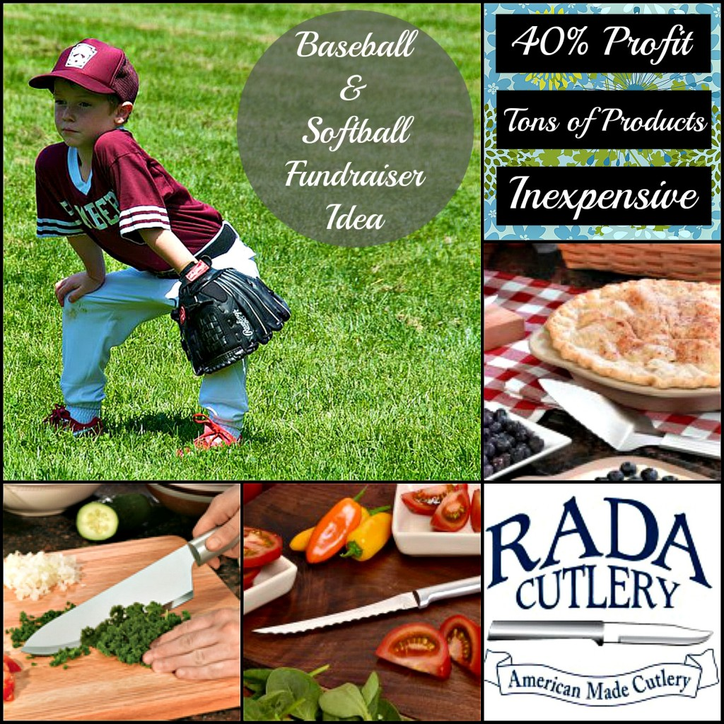 Baseball and Softball Fundraiser Collage