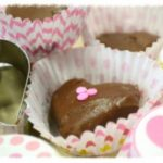 Valentine's Day Brownies made by Rada Cutlery.
