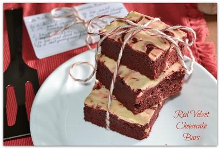 Red Velvet Cheesecake Bars Recipe | Rada Cutlery