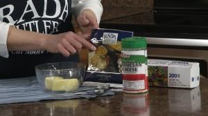 Ingredients for Garlic Parmesan Spread