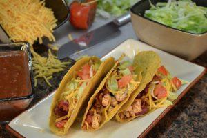 Chicken Tacos ready