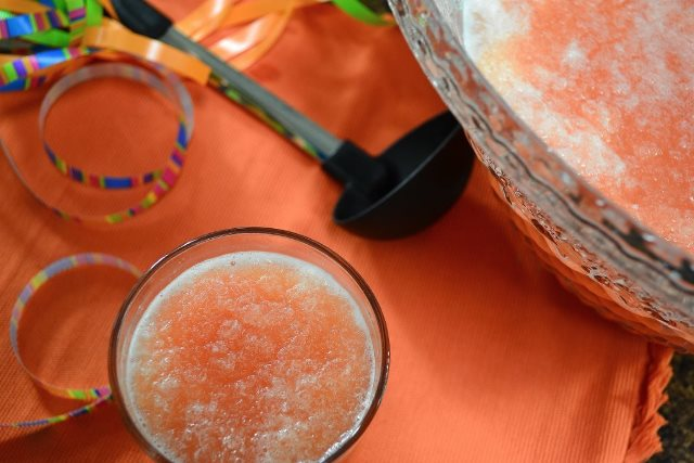 Recipe for Luscious Slush Punch | Party Perfect!