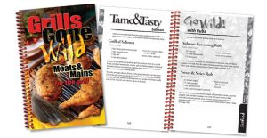 Rada's Grills Gone Wild cookbook.