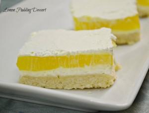 Lemon Pudding Dessert