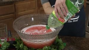Add soda when solid