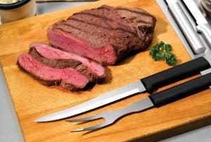 Marinading Steak