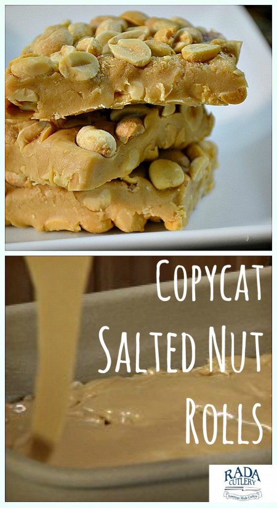 Salted Nut Rolls Collage
