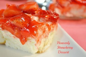 Angel Food Strawberry Dessert | Potluck Dessert Recipe