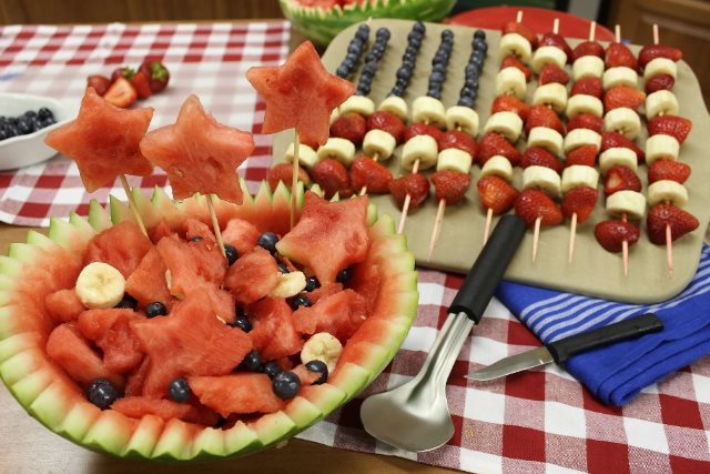Firecracker Fruit Salad | How to Make a Watermelon Bowl