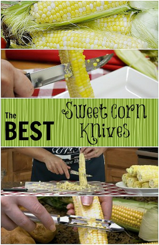 Best Knife to Cut Corn Collage