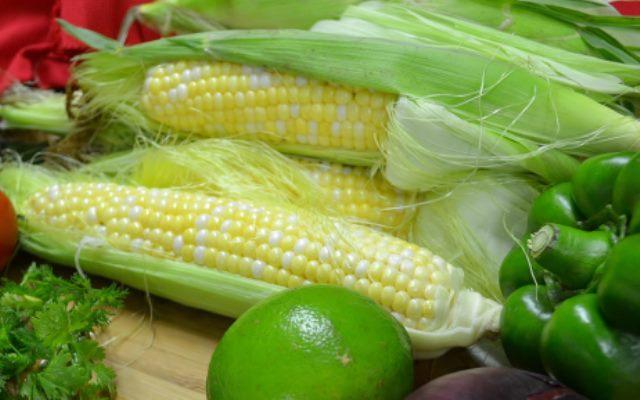 Homegrown sweet corn