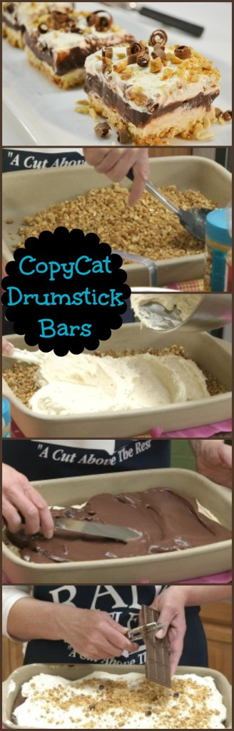 Drumstick Bars Collage
