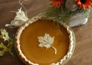 Pumpkinn Pie overhead