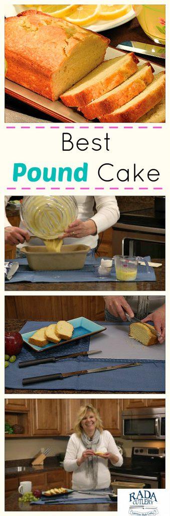 Best Pound Cake Collage