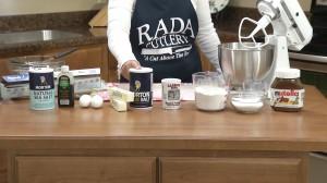Nutella Cookie Ingredients
