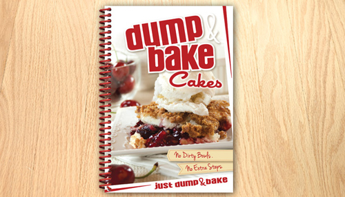 Rada's Dump and Bake cakes recipe book is filled with incredible cakes!