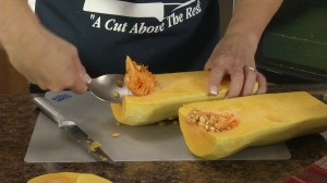 How to Peel & Seed a Butternut Squash