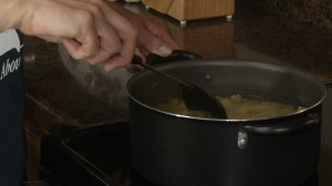 Boil water & pasta.