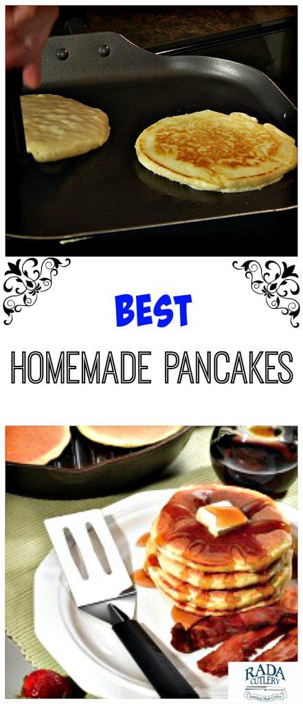 Homemade Pancakes Collage
